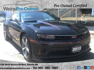 Used 2015 Chevrolet Camaro LT| SUNROOF| LEATHER SEATS| NAVI| CAMERA for sale in Oakville, ON