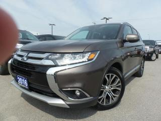 Used 2016 Mitsubishi Outlander GT 3.0L V6 for sale in Midland, ON