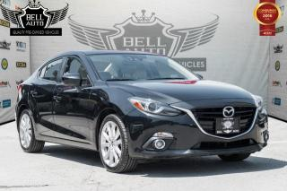 Used 2015 Mazda MAZDA3 GT NAVIGATION SUNROOF LEATHER BACKUP CAMERA for sale in Toronto, ON