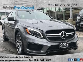 Used 2017 Mercedes-Benz GLA-Class GLA45 | LOW KM'S| NAVI| CAMERA| PAN SUNROOF| for sale in Oakville, ON