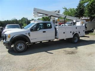 Used 2017 Ford F-550 EXT CAB 4X4 DIESEL WITH VERSALIFT BUCKET for sale in Richmond Hill, ON