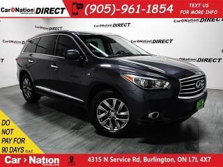 Used 2014 Infiniti QX60 | AWD| NAVI| SUNROOF| BACK UP CAM & SENSORS| for sale in Burlington, ON