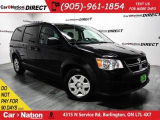 Used 2012 Dodge Grand Caravan SXT| DUAL CLIMATE CONTROL| POWER DRIVERS SEAT| for sale in Burlington, ON