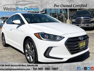 Used 2018 Hyundai Elantra GL| SUNROOF| LEATHER| CAMERA| CAR PLAY for sale in Oakville, ON