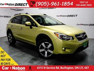 Used 2014 Subaru XV Crosstrek Hybrid | AWD| BACK UP CAMERA| SUNROOF| for sale in Burlington, ON