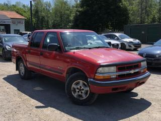 Used 2002 Chevrolet S-10 Crew Cab 123