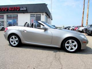 Used 2008 Mercedes-Benz SLK SLK280 Convertible Auto Leather Certified 2YR Warranty for sale in Milton, ON