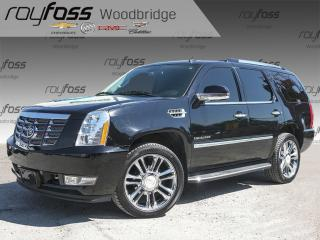 Used 2011 Cadillac Escalade NAV, BOSE, BACKUP CAM, DVD for sale in Woodbridge, ON