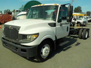 Used 2012 International TerraStar 14 Foot Chassis 183 Inch Wheel Base Diesel Dually for sale in Burnaby, BC