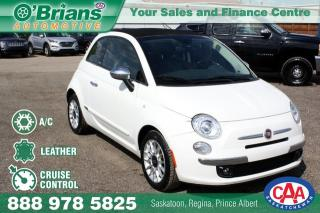 Used 2012 Fiat 500 Lounge for sale in Saskatoon, SK