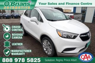 Used 2017 Buick Encore Preferred w/Mfg Warranty, Leather for sale in Saskatoon, SK