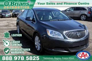 Used 2017 Buick Verano w/Mfg Warranty, Leather trim for sale in Saskatoon, SK