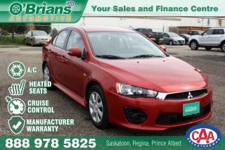 Used 2016 Mitsubishi Lancer SE LTD w/Mfg Warranty for sale in Saskatoon, SK