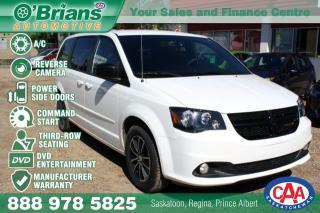 Used 2017 Dodge Grand Caravan SXT w/Mfg Warranty, DVD, Command Start for sale in Saskatoon, SK