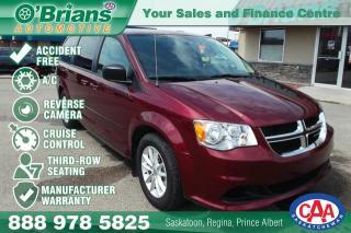Used 2017 Dodge Grand Caravan SXT - Accident Free! for sale in Saskatoon, SK
