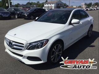 Used 2015 Mercedes-Benz C-Class C300 Awd Gps Cuir for sale in Saint-georges-de-champlain, QC