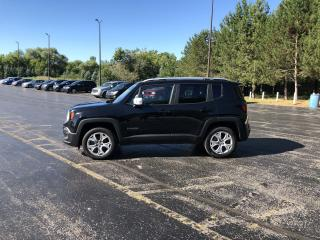 Used 2017 Jeep RENEGADE LIMITED 4X4 for sale in Cayuga, ON