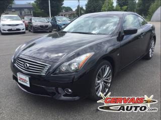 Used 2015 Infiniti Q60 S Sport Awd Cuir for sale in Trois-rivieres, QC
