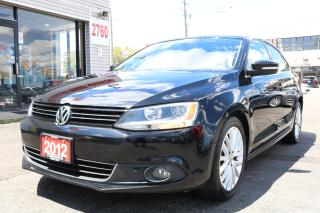 Used 2012 Volkswagen Jetta 2.0 TDI Highline Leather. Roof. Original Car for sale in North York, ON