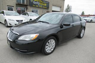 Used 2013 Chrysler 200 LX AUTO,NEW TIRE,4CYL,LOW KM for sale in Newmarket, ON