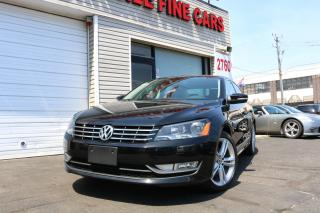 Used 2013 Volkswagen Passat 2.5L Highline Leather. Roof, No Accidents for sale in Toronto, ON