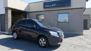 Used 2013 Chevrolet Trax 2LT Power Sunroof, Black & Dark Brown leather interior, Back-up camera for sale in Kingston, ON