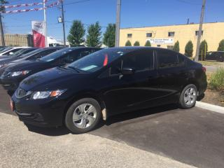 Used 2014 Honda Civic LX Bluetooth, Heated Seats and more! for sale in Waterloo, ON