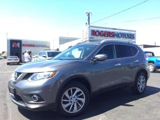 Used 2014 Nissan Rogue SL AWD - NAVI - PANO ROOF - 360 CAMERA for sale in Oakville, ON