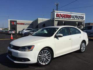 Used 2012 Volkswagen Jetta TDI - NAVI - LEATHER - SUNROOF for sale in Oakville, ON