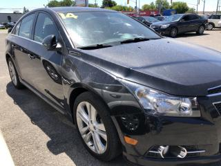 Used 2014 Chevrolet Cruze 2LT RS Package with Leather, Sunroof, Heated Seats, BackupCam, Bluetooth AUTOSTART! for sale in Kemptville, ON