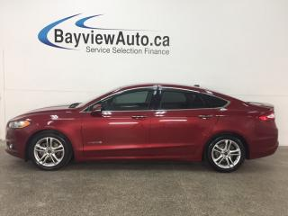 Used 2015 Ford Fusion Titanium - REM START! KEYPAD! SUNROOF! HTD/AC LTHR! NAV! SONY! SYNC! for sale in Belleville, ON