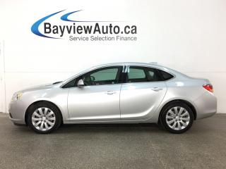 Used 2015 Buick Verano Base - ALLOYS! REM START! LTHR TRIM! REVERSE CAM! for sale in Belleville, ON