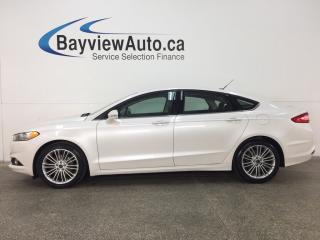 Used 2015 Ford Fusion - 2.5L! KEYPAD! ALLOYS! HTD SEATS! REVERSE CAM! SYNC! for sale in Belleville, ON