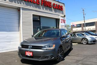 Used 2014 Volkswagen Jetta 2.0 TDI Highline Navigation. Leather. Camera for sale in North York, ON