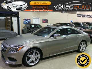 Used 2015 Mercedes CLS-Class CLS550  4MATIC  44,282KM for sale in Woodbridge, ON