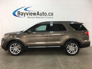 Used 2016 Ford Explorer XLT - 4WD! PANOROOF! HTD LTHR! NAV! SYNC! REVERSE CAM! for sale in Belleville, ON