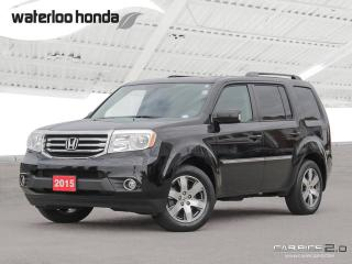 Used 2015 Honda Pilot Touring Sold Pending Customer Pick Up...Bluetooth, Back Up Camera, Navigation, and More! for sale in Waterloo, ON