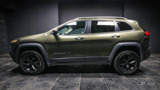 Used 2016 Jeep Cherokee Trailhawk LEATHER! NAV! PARKING SENSORS! BACK UP CAM! for sale in Kingston, ON