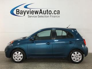 Used 2015 Nissan Micra SV - 5 SPEED! A/C! BLUETOOTH! PWR GROUP! CRUISE! for sale in Belleville, ON