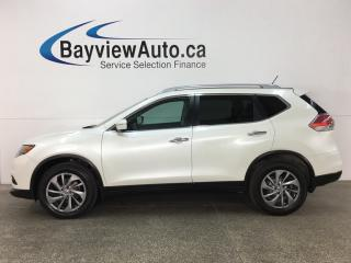 Used 2015 Nissan Rogue SV - PANOROOF! PUSH BTN START! HTD LTHR! REVERSE CAM! for sale in Belleville, ON