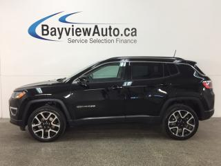 Used 2017 Jeep Compass Limited - 4x4! REM START! PANOROOF! HTD LTHR! NAV! PWR LIFTGATE! for sale in Belleville, ON