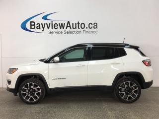 Used 2017 Jeep Compass Limited - HTD LTHR! PANOROOF! NAV! REVERSE CAM! PWR TRUNK! for sale in Belleville, ON