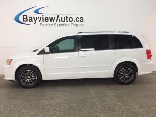 Used 2017 Dodge Grand Caravan - ALLOYS! STOW 'N GO! PWR SLIDERS! NAV! DVD! for sale in Belleville, ON