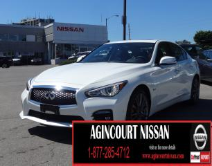 Used 2017 Infiniti Q50 3.0t Red Sport 400 AWD|NAVI|LEATHER|BOSE SOUND SYSTEM| for sale in Scarborough, ON