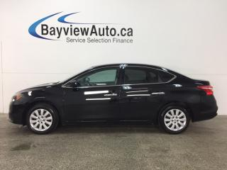 Used 2016 Nissan Sentra 1.8 S - AUTO! TINT! A/C! BLUETOOTH! CRUISE! for sale in Belleville, ON