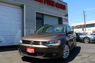 Used 2011 Volkswagen Jetta 2.0 TDI Highline Navigation. Leather. Roof for sale in North York, ON