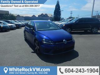 Used 2016 Volkswagen Golf R 2.0 TSI BC Driven, No Accidents, Golf R, Navigation, Heated Front Seats & Leather Upholstery for sale in Surrey, BC