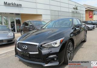 Used 2017 Infiniti Q50 3.0T Sport Tech, Navi, BSM, 360 Cam, Sunroof for sale in Unionville, ON