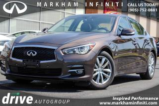Used 2014 Infiniti Q50 Tech, Navi, BSM, 360 Cam, Bose Audio for sale in Unionville, ON