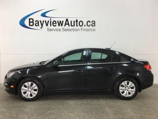 Used 2015 Chevrolet Cruze 1LT - 6 SPEED! TURBO! SUNROOF! REVERSE CAM! PIONEER! CRUISE! for sale in Belleville, ON
